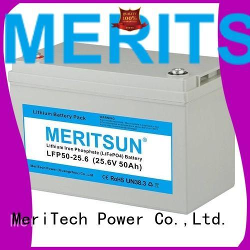 Wholesale 1c lifepo4 battery price MERITSUN Brand