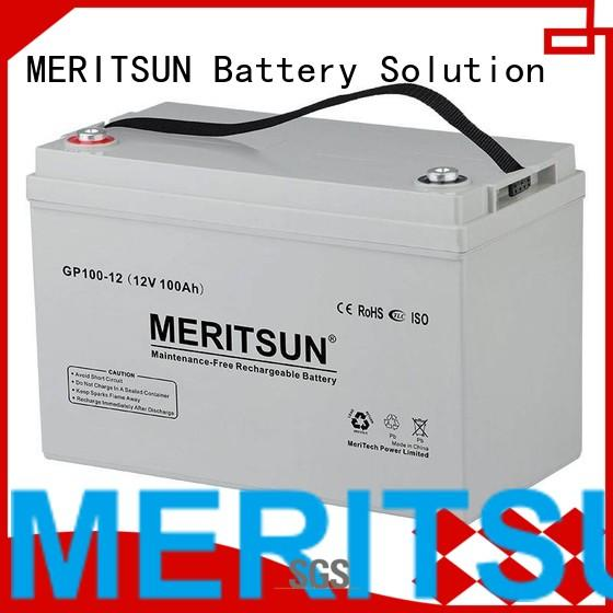 vrla gel battery opzv front opzs Warranty MERITSUN