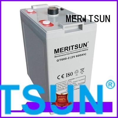 Wholesale flooded vrla gel battery opzv MERITSUN Brand