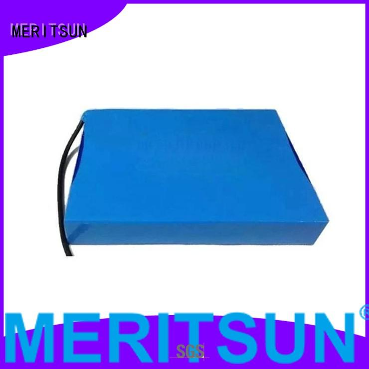 integrated lithium all OEM solar street light lithium battery MERITSUN