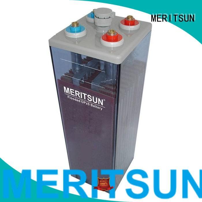 vrla gel battery opzs terminal MERITSUN Brand opzv battery