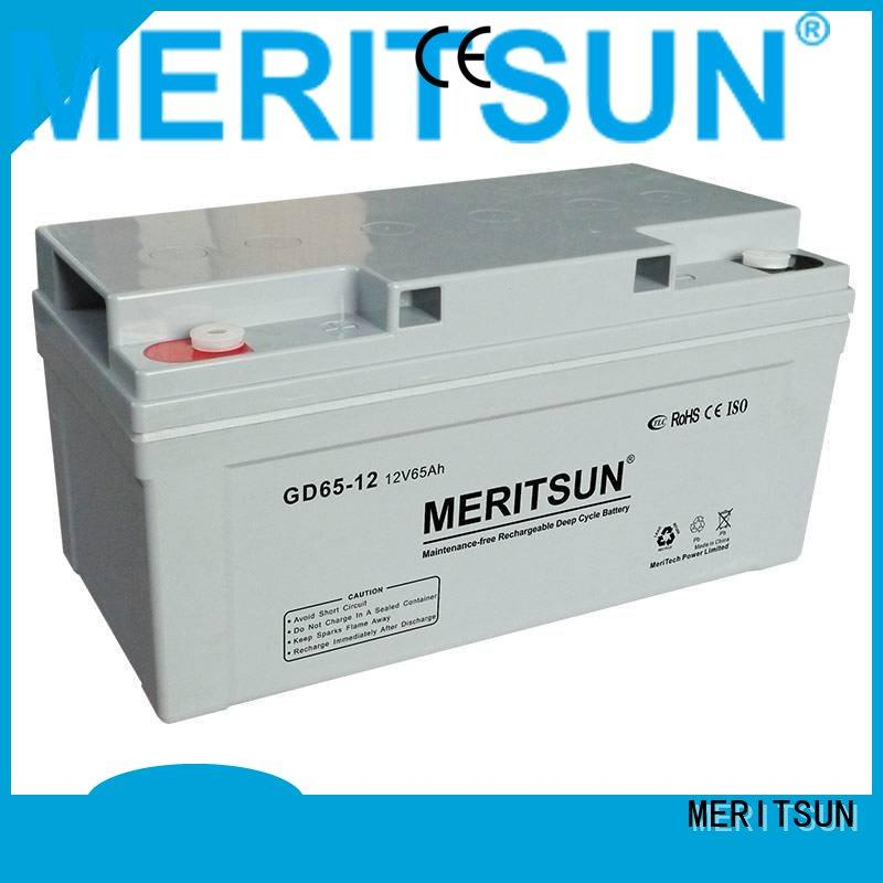 battery flooded gel cycle opzv battery MERITSUN