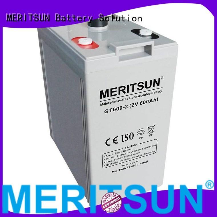 Hot opzv vrla gel battery vrla MERITSUN Brand