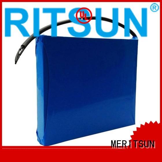 lithium ion battery for solar street light 20ah lithium solar street light lithium battery light MERITSUN Brand