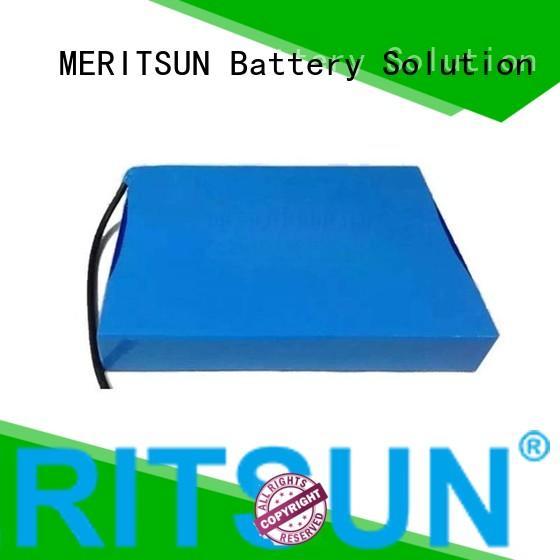Quality MERITSUN Brand lithium ion battery for solar street light street battery