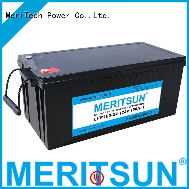 lifepo4 battery price 256v lifepo4 battery MERITSUN Brand