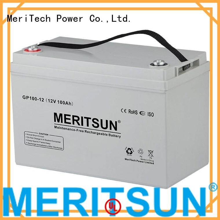 deep opzv battery cycle terminal MERITSUN company