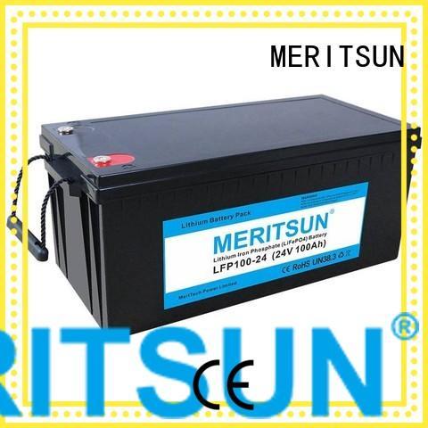 2000 phosphate MERITSUN Brand lifepo4 battery price