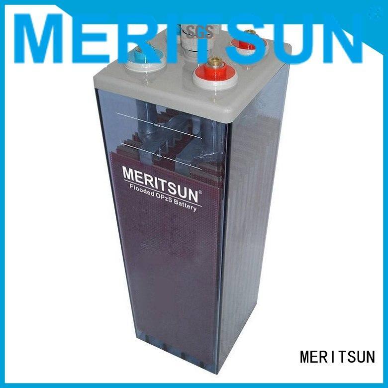 telecom Custom opzs opzv battery battery MERITSUN
