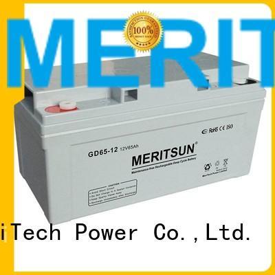 vrla gel battery telecom opzv battery MERITSUN Brand