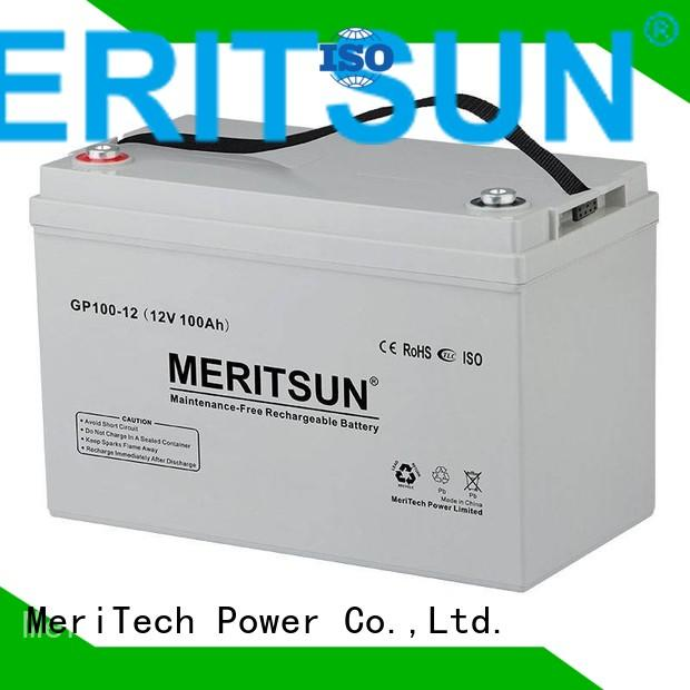 vrla gel battery deep vrla opzv battery MERITSUN Brand