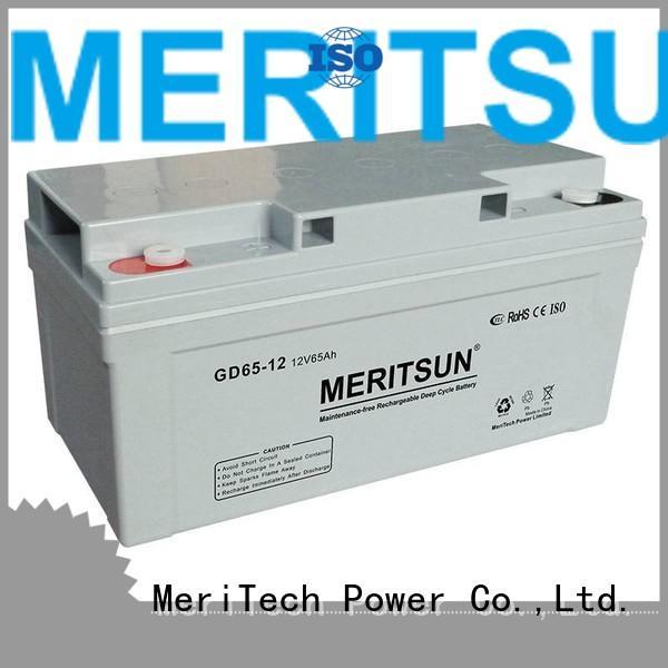 vrla gel battery flooded opzv vrla MERITSUN Brand opzv battery