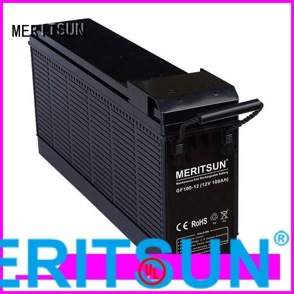 vrla gel battery vrla battery opzv battery MERITSUN Brand