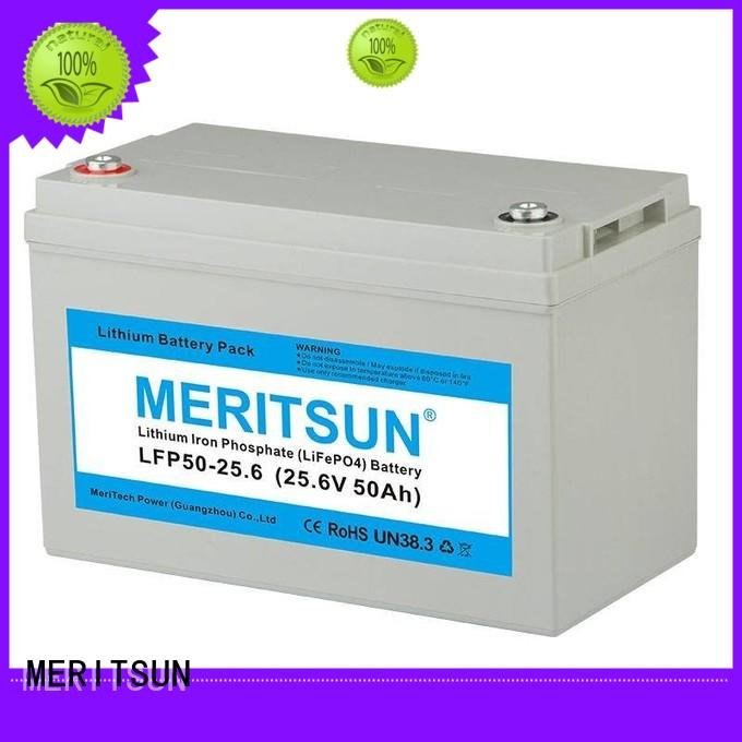 MERITSUN lithium ion rechargeable battery series for house