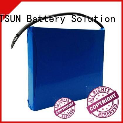 low-carbon battery for solar street light customized for LED light MERITSUN