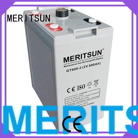 vrla gel battery deep MERITSUN Brand opzv battery