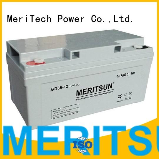 gel battery vrla gel battery MERITSUN Brand