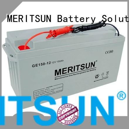 tubular Custom deep opzv battery flooded MERITSUN