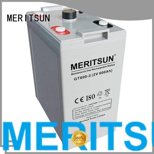 Custom flooded opzv opzv battery MERITSUN tubular