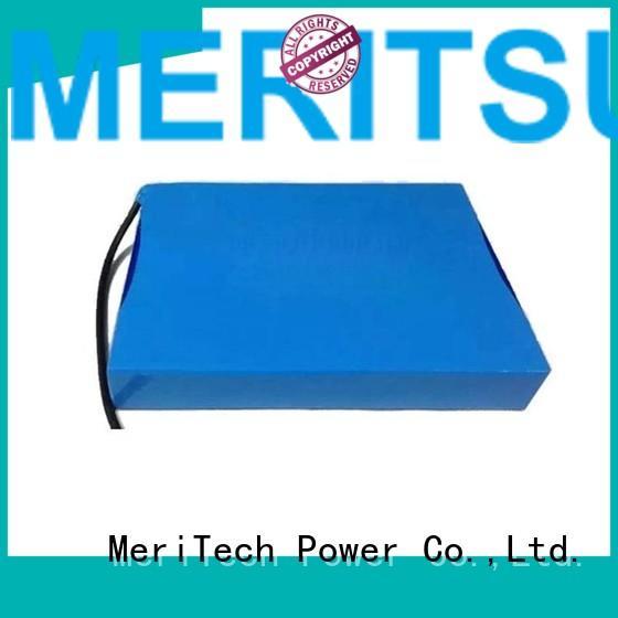 lithium ion battery for solar street light 20ah life solar street light lithium battery MERITSUN Brand