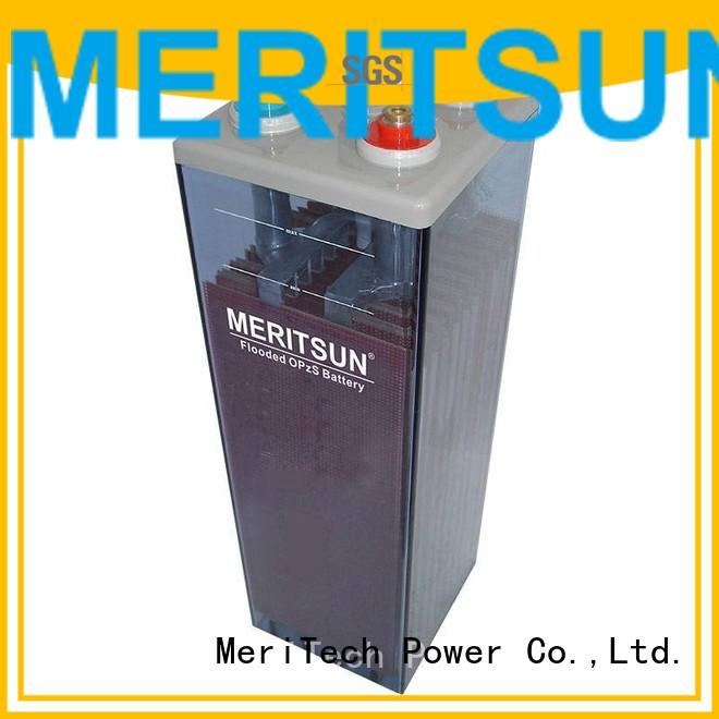 Hot deep vrla gel battery front MERITSUN Brand