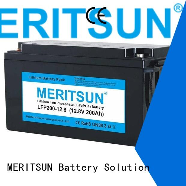 100dod lifepo4 battery 1c MERITSUN company