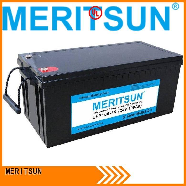 lifepo4 battery price lifepo4 liion 2000 MERITSUN Brand lifepo4 battery